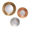 Southern Enterprises Dryden Metallic Wall Mirror 3pc Set