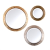 Southern Enterprises Lucerne Round Wall Mirror 3pc Set