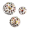 Jessalyn Metal Sphere Wall Sculptures - 3pc Set