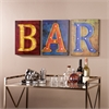 LED Bar Signs - 3pc Set