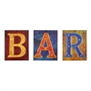 LED Bar Signs - 3pc Set