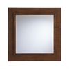 Southern Enterprises Dawson Decorative Mirror - Oak Saddle