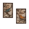 Southern Enterprises Bird Wall Panel 2pc Set
