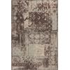 """KAS Rugs Allure 4053 Blue/Mocha Palette 3'3"""" x 5'3"""" Size Area Rug"""