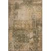 KAS Rugs Allure 4054 Sage/Gold Vintage 5' x 7' Size Area Rug
