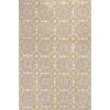 """Allure 4056 Silver/Gold Suzani 3'3"""" x 5'3"""" Size Area Rug"""