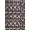 "Allure 4058 Grey/Purple Horizon 3'3"" x 5'3"" Size Area Rug"