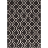 "Allure 4067 Charcoal Fiore 6'7"" x 9'6"" Size Area Rug"