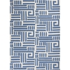 "Allure 4071 Blue/Ivory Visions 2'3"" x 7'6"" Runner Size Area Rug"