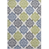 "Allure 4073 Ivory Delaney 6'7"" x 9'6"" Size Area Rug"