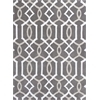 "Allure 4081 Taupe Gramercy 6'7"" x 9'6"" Size Area Rug"