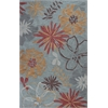 "Anise 2415 Ocean Wildflowers 27"" X 45"" Size Area Rug"