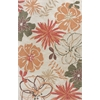 "Anise 2417 Ivory Wildflowers 5' x 7'6"" Size Area Rug"