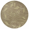 "KAS Rugs Bali 2819 Celadon Visions 5'6"" Round Size Area Rug"