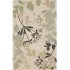 "Bali 2821 Ivory Rainforest 3'3"" x 5'3"" Size Area Rug"