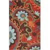 KAS Rugs Bali 2877 Mocha/Rust Serafina 5' X 8' Size Area Rug