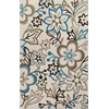 Bali 2880 Ivory Silhouette 5' X 8' Size Area Rug