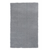 "KAS Rugs Bliss 1557 Grey Shag 27"" X 45"" Size Area Rug"