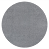 Bliss 1557 Grey Shag 8' Round Size Area Rug