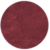 Bliss 1564 Red Shag 8' Round Size Area Rug