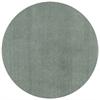 KAS Rugs Bliss 1565 Slate Shag 6' Round Size Area Rug