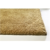 "KAS Rugs Bliss 1567 Gold Shag 3'3"" x 5'3"" Size Area Rug"