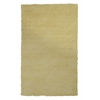 "Bliss 1574 Canary Yellow Shag 3'3"" x 5'3"" Size Area Rug"