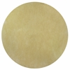 Bliss 1574 Canary Yellow Shag 6' Round Size Area Rug