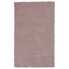 KAS Rugs Bliss 1575 Rose Pink Shag 5' x 7' Size Area Rug