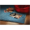 "Bliss 1577 Highlighter Blue Shag 27"" X 45"" Size Area Rug"