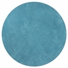 Bliss 1577 Highlighter Blue Shag 8' Round Size Area Rug