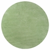 Bliss 1578 Spearmint Green Shag 6' Round Size Area Rug