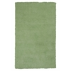 KAS Rugs Bliss 1578 Spearmint Green Shag 5' x 7' Size Area Rug