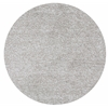Bliss 1580 Ivory Heather Shag 8' Round Size Area Rug