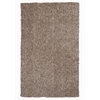 "Bliss 1581 Beige Heather Shag 3'3"" x 5'3"" Size Area Rug"