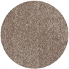 Bliss 1581 Beige Heather Shag 6' Round Size Area Rug