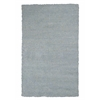 "Bliss 1582 Blue Heather Shag 7'6"" X 9'6"" Size Area Rug"