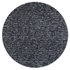 Bliss 1583 Black Heather Shag 6' Round Size Area Rug
