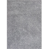 "Bliss 1585 Grey Heather Shag 3'3"" x 5'3"" Size Area Rug"