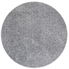 Bliss 1585 Grey Heather Shag 8' Round Size Area Rug