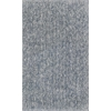 "Bliss 1587 Slate Heather Shag 3'3"" x 5'3"" Size Area Rug"