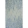 KAS Rugs Bob Mackie Home 1004 Ivory Tranquility 5' x 8' Size Area Rug