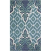 KAS Rugs Bob Mackie Home 1007 Blue/Green Opulence 8' x 11' Size Area Rug