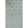 Bob Mackie Home 1018 Ice Blue Mirage 9' x 13' Size Area Rug