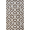 Bob Mackie Home 1020 Beige Eye Of The Peacock 8' x 11' Size Area Rug