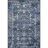 "Bob Mackie Home Vintage 1310 Azure Blue Marrakesh 2'2"" x 7'10"" Runner Size Area Rug"