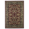 "Cambridge 7301 Red/Black Kashan 20"" x 31"" Size Area Rug"