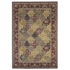"KAS Rugs Cambridge 7325 Red Kashan Panel 5'3"" x 7'7"" Size Area Rug"