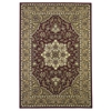 "KAS Rugs Cambridge 7326 Red/Beige Kashan Medallion 3'3"" x 4'11"" Size Area Rug"