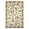 "Cambridge 7331 Ivory Floral Vine 7'7"" x 10'10"" Size Area Rug"
